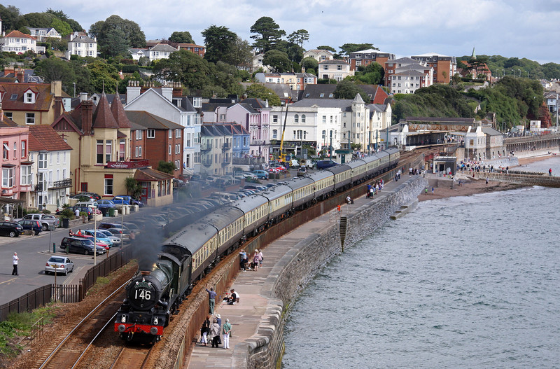 6024, 09.15 Bristol Temple Meads-Kingswear, Torbay Express, Dawlish, 7-8-11.
