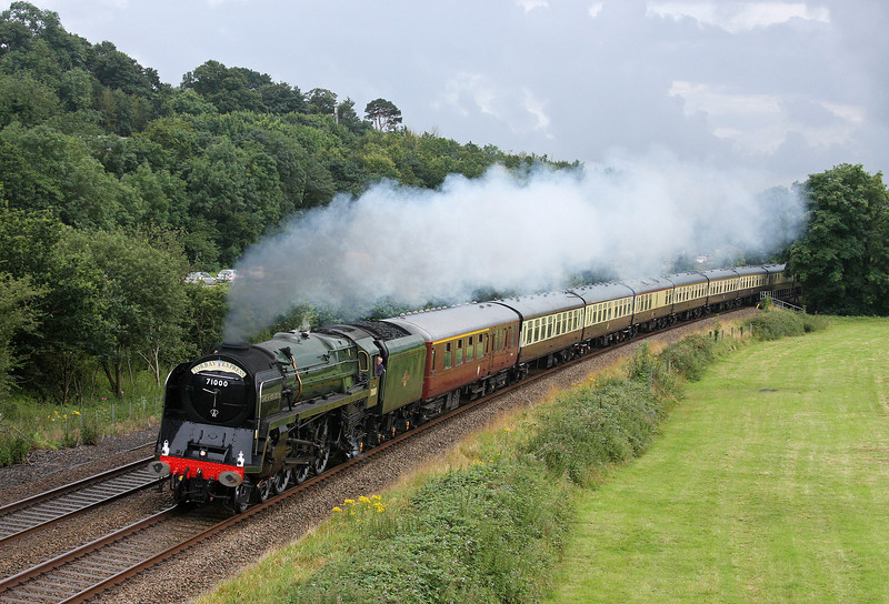 71000, 16.50 Kingswear-Bristol Temple Meads, Torbay Express, Cullompton, 5-8-12.