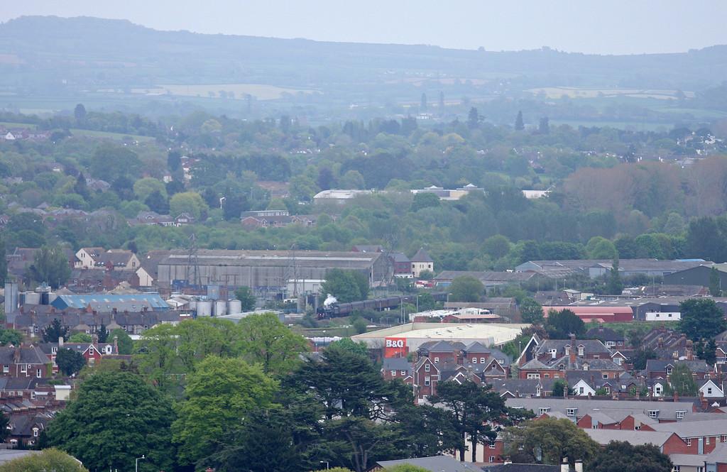 70013, 16.40 Par-Bristol Temple Meads, The Cornishman, Exeter, 19-5-12.
