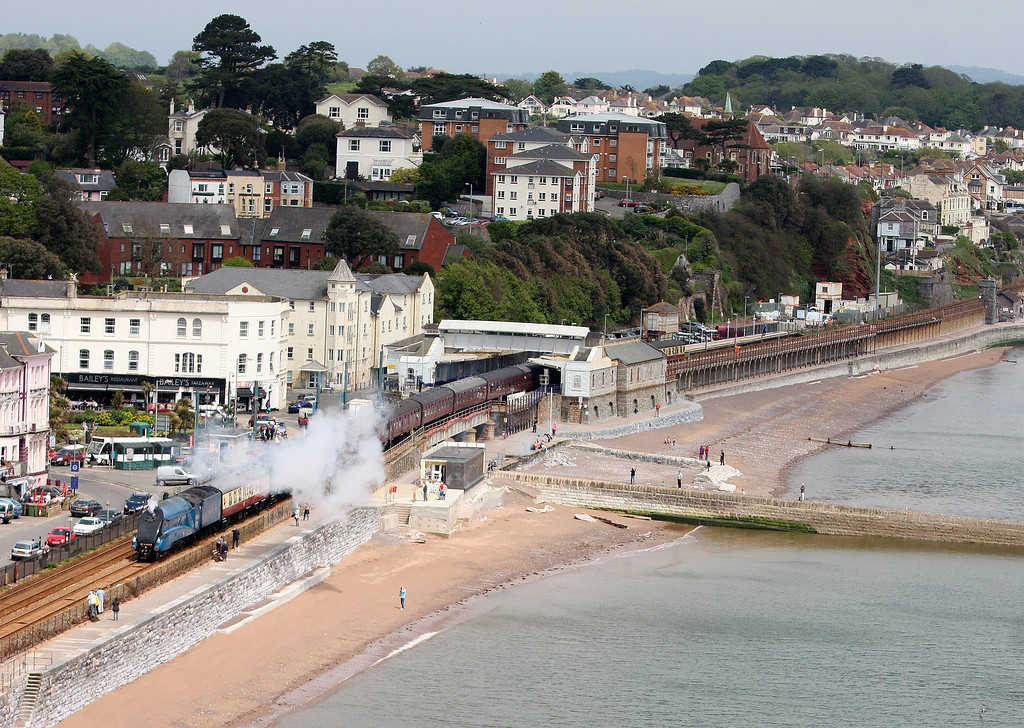 4464, 07.06 Banbury-Kingswear, Cathedrals Express, Dawlish, 21-5-13.