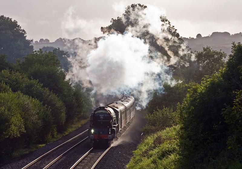 60163, 16.50 Kingswear-Bristol Temple Meads, Torbay Express, Whiteball, 10-9-17.