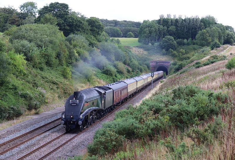 60009, 09.10 Bristol Temple Meads-Kingswear, Torbay Expreess, Whiteball, 18-8-19.