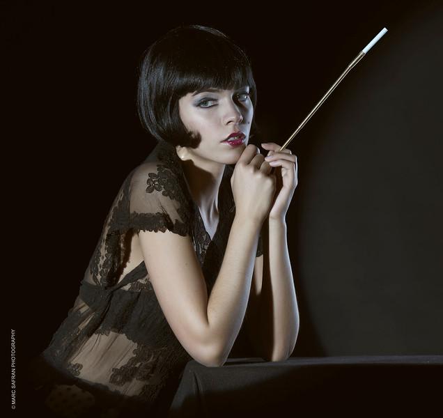 Lana Stevens - Model;  Sarah Stark - HMUA