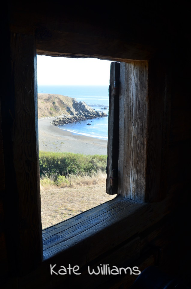 Cannon window, Fort Ross State Park