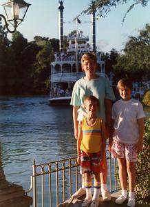 Disneyland 1987 | Our three kids