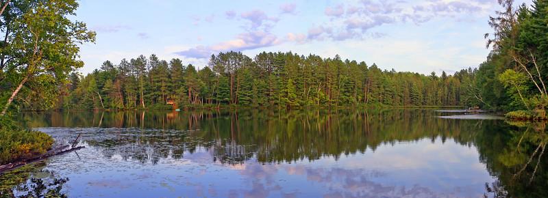 Shoreline Of Our Property | Horseshoe Lake, Upper Michigan