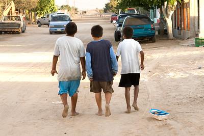 On The Streets of Kino Viejo, Mexico