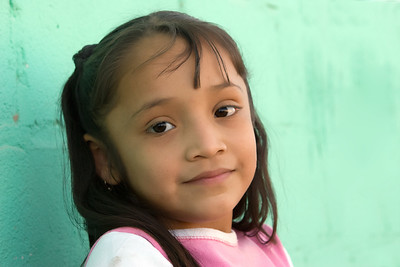 Young Girl By Church   Plan de Ayala, Mexico