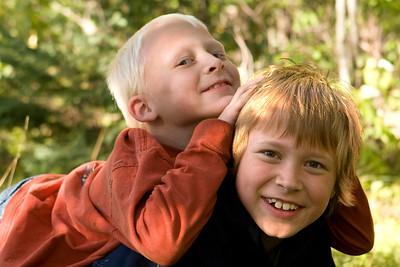 Brotherly Love   Horseshoe Lake, Michigan