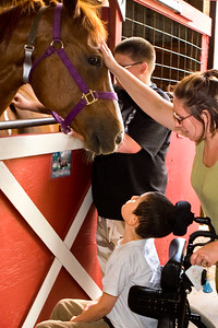 Pleased to Meet You!   Healing Winds Therapeutic Riding Center,  Brush Prairie, WA