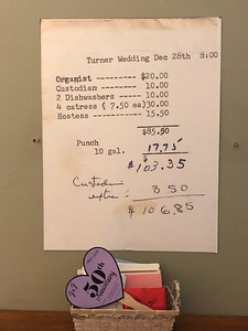 Wedding Costs 1968   Seattle WA