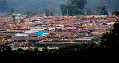 Kibera Slum   Nairobi, Kenya (photo courtesy of Julie Crites)