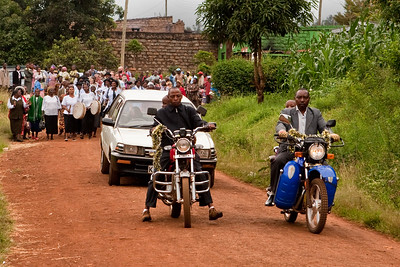 Graduation Procession   Kaharati Bible Institute; Central Kenya