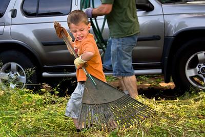 Helping Dad   Vancouver, Washington