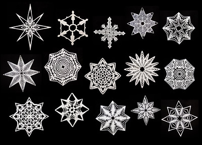Snowflakes by 5th Graders | Parkrose, Oregon