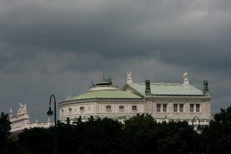 Burgtheater, an opera venue, Vienna