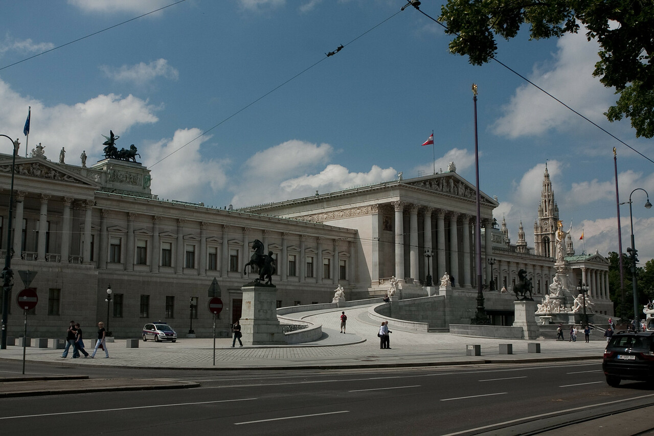 The parliament - Vienna