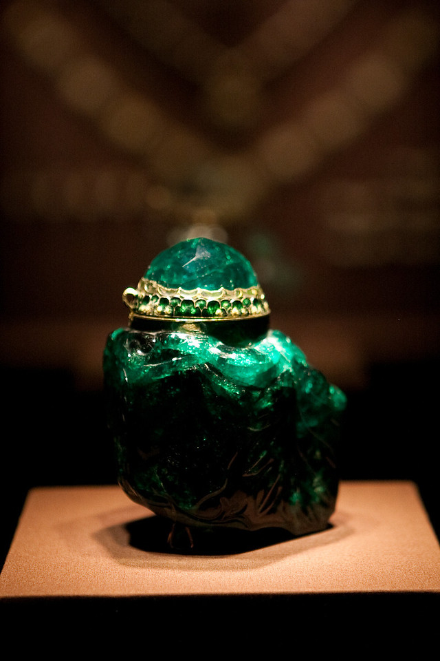 Largest cut emerald in the world?
