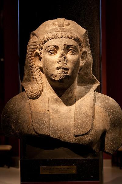 Emperor or prince as Horus