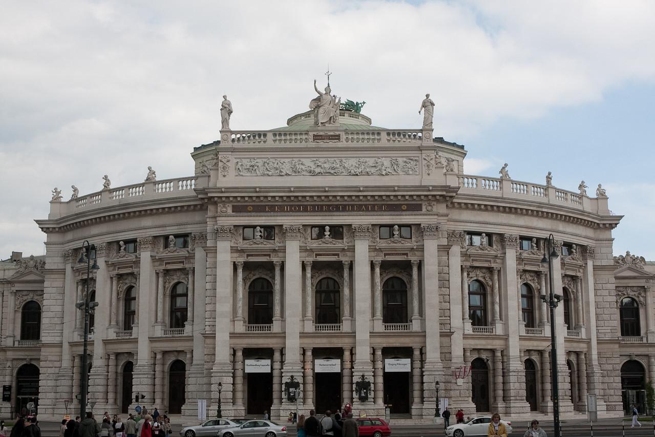 Burgtheater, Vienna.