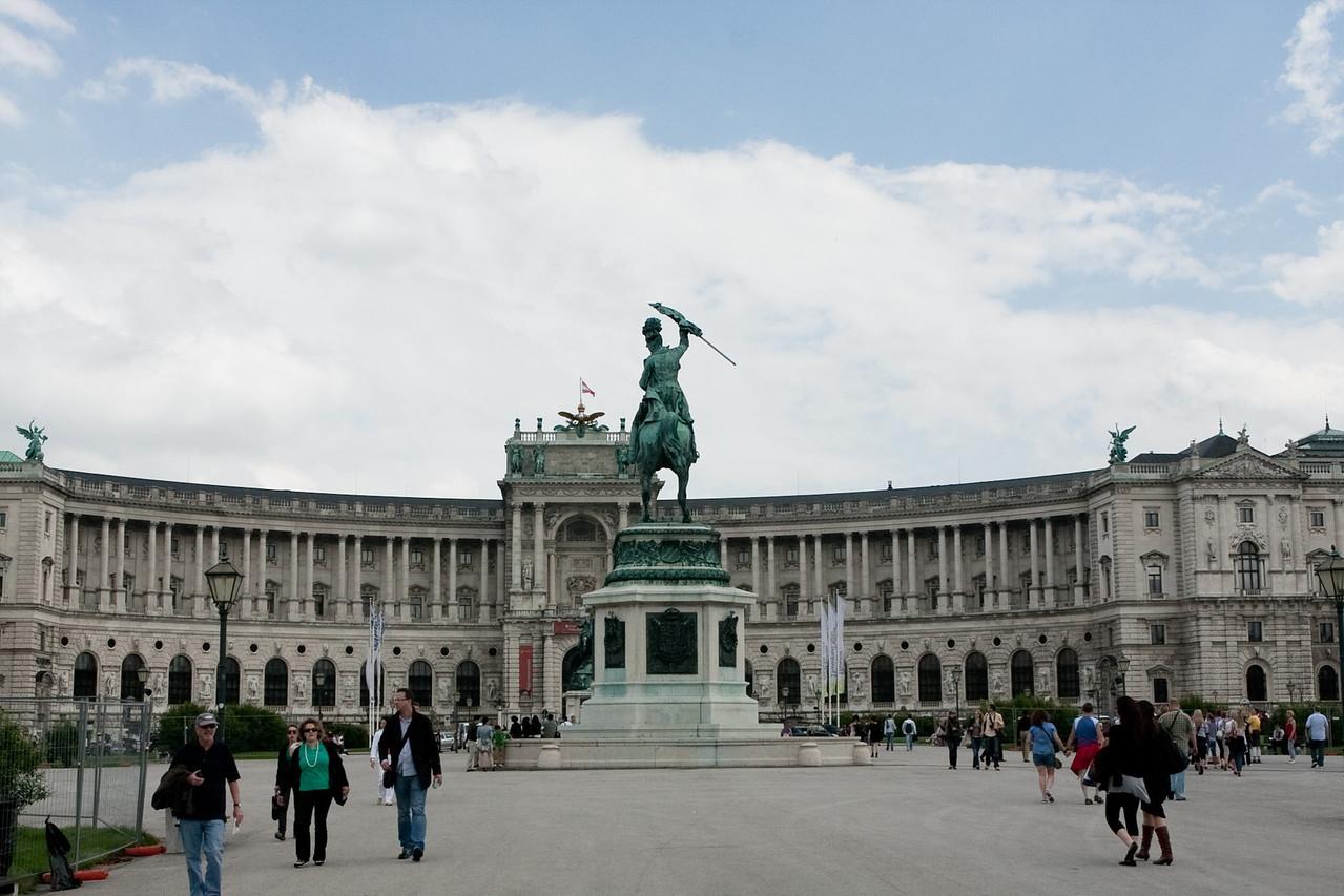 Hofburg palace - awesome place.