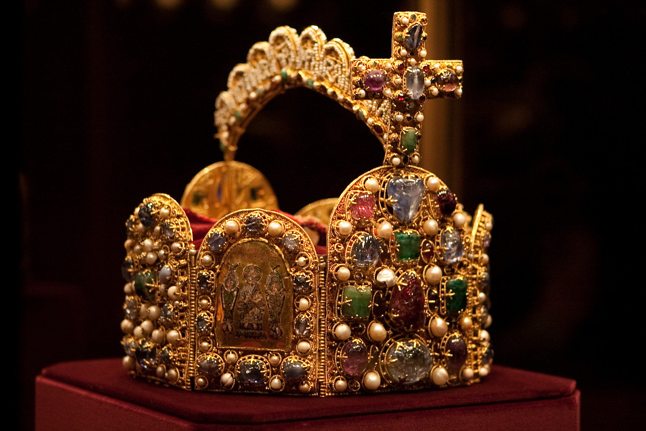 Imperial crown of the holy Roman empire.