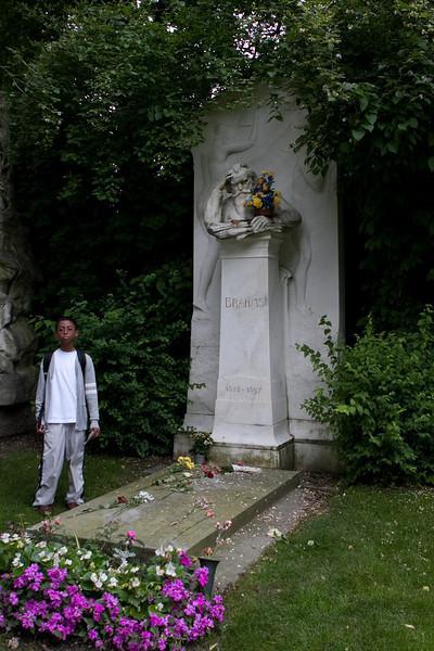 Vienna - Zentralfriedhof (Central Cemetary) - Brahms
