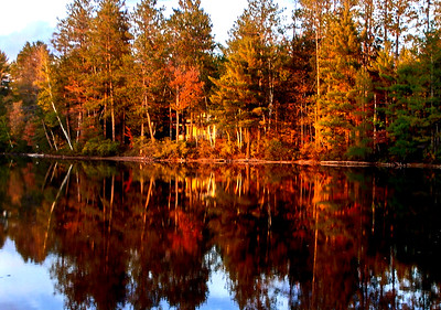 Big Cabin in Fall | Photo courtesy of Mike Anttonen