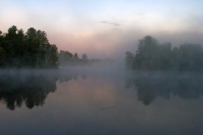 Morning Lake Mist