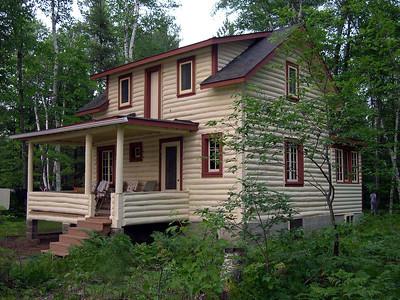 The Big Cabin | Split log with basement