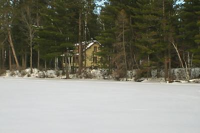 Horseshoe Lake in Winter | Photo courtesy of Mike Anttonen