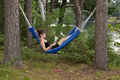 A Good Book and A Hammock