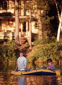 Evening Raft Ride