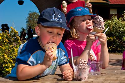 Ice Cream Break | Presque Isle