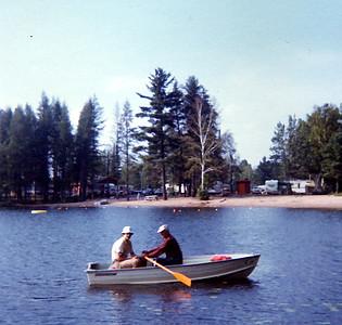 Fishing with John Paavola 1973