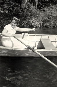 Mom (Mickey) on Lake