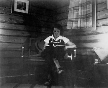 Mom (Mickey) in Living Room