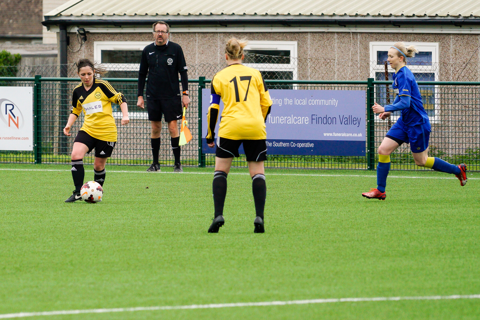 Crawley Wasps Ladies vs AFC Wimbledon on April 29, 2018 at Steyning Town Football Club, Steyning. Photo: Ben Davidson, www.bendavidsonphotography.com
