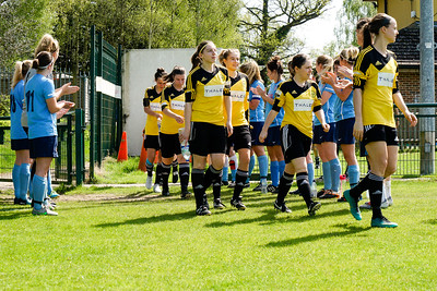 Crawley Wasps Ladies vs London Kent on April 22, 2018 at Crawley Down Gatwick Football Club, Crawley Down. Photo: Ben Davidson, www.bendavidsonphotography.com