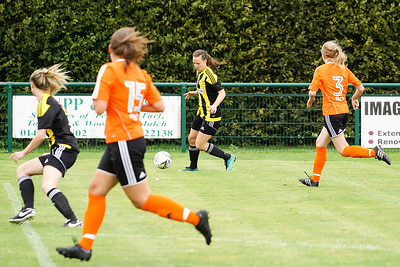 Crawley Wasps LFC (5) vs Ipswich Town Ladies (1) on August 19, 2018 at The Haven, Crawley Down Gatwick Football Club, Crawley Down. Photo: Ben Davidson, www.bendavidsonphotography.com (180819-1193)