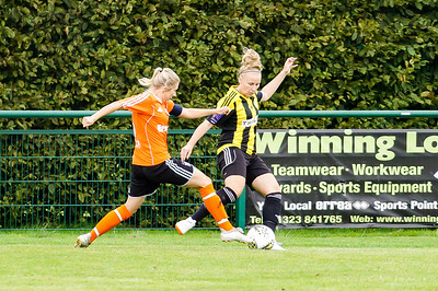 Crawley Wasps LFC (5) vs Ipswich Town Ladies (1) on August 19, 2018 at The Haven, Crawley Down Gatwick Football Club, Crawley Down. Photo: Ben Davidson, www.bendavidsonphotography.com (180819-1179)