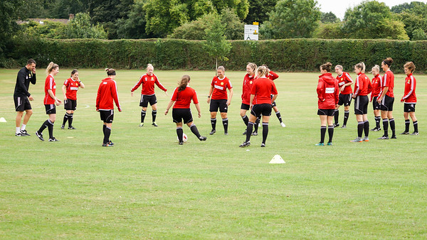 Crawley Wasps Ladies vs Reading Ladies (Reserves) on August 12, 2018 at Ewhurst Football Playing Fields, Crawley. Photo: Ben Davidson, www.bendavidsonphotography.com