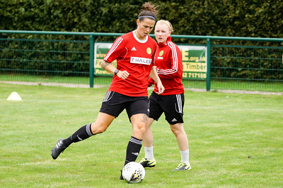 Crawley Wasps LFC (5) vs Ipswich Town Ladies (1) on August 19, 2018 at The Haven, Crawley Down Gatwick Football Club, Crawley Down. Photo: Ben Davidson, www.bendavidsonphotography.com (180819-1106)