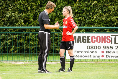 Crawley Wasps LFC (5) vs Ipswich Town Ladies (1) on August 19, 2018 at The Haven, Crawley Down Gatwick Football Club, Crawley Down. Photo: Ben Davidson, www.bendavidsonphotography.com (180819-1104)