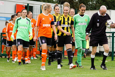 Crawley Wasps LFC (5) vs Ipswich Town Ladies (1) on August 19, 2018 at The Haven, Crawley Down Gatwick Football Club, Crawley Down. Photo: Ben Davidson, www.bendavidsonphotography.com (180819-1134)