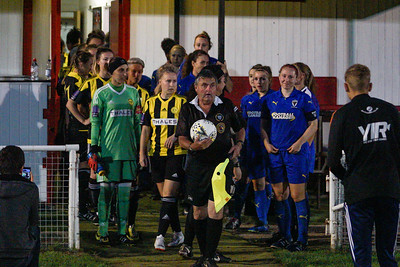 Crawley Wasps LFC (5) vs AFC Wimbledon (2) on September 12, 2018 at Oakwood Football Ground, Tinsley Lane, Crawley, Crawley. Photo: Ben Davidson, www.bendavidsonphotography.com (180912-0081)