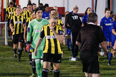 Crawley Wasps LFC (5) vs AFC Wimbledon (2) on September 12, 2018 at Oakwood Football Ground, Tinsley Lane, Crawley, Crawley. Photo: Ben Davidson, www.bendavidsonphotography.com (180912-0087)