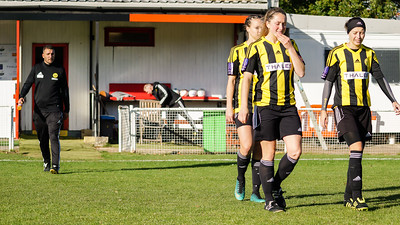 Crawley Wasps LFC (6) vs Luton Town (0) on October 28, 2018 at Oakwood Football Ground, Tinsley Lane, Crawley, Crawley. Photo: Ben Davidson, www.bendavidsonphotography.com (181028-081)