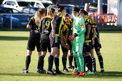 Crawley Wasps LFC (6) vs Luton Town (0) on October 28, 2018 at Oakwood Football Ground, Tinsley Lane, Crawley, Crawley. Photo: Ben Davidson, www.bendavidsonphotography.com (181028-096)