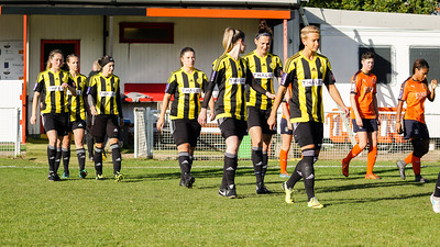 Crawley Wasps LFC (6) vs Luton Town (0) on October 28, 2018 at Oakwood Football Ground, Tinsley Lane, Crawley, Crawley. Photo: Ben Davidson, www.bendavidsonphotography.com (181028-078)